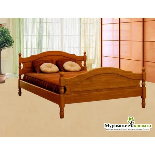 """Кровать из массива дерева """"Жанна"""""""