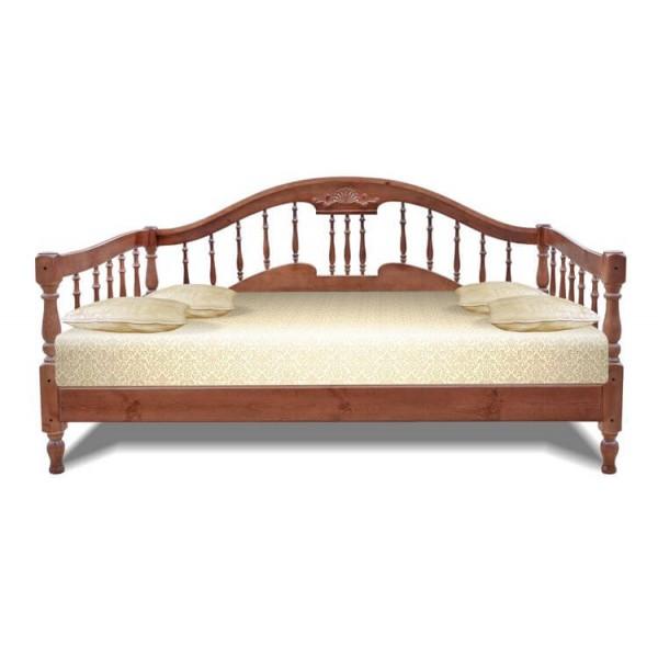 """Кровать из массива дерева """"Монако"""""""