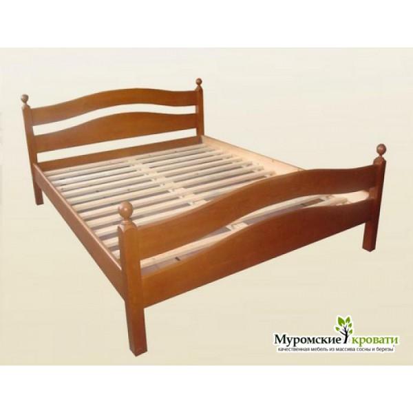 """Кровать из массива дерева """"Амелия"""""""