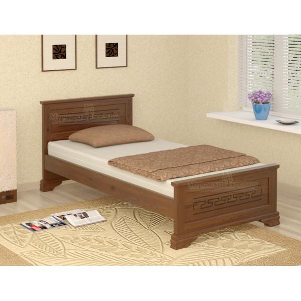 """""""Классика"""" кровать с рисунком односпальная"""