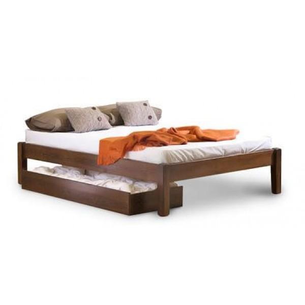 """Кровать из массива дерева """"Логан"""""""