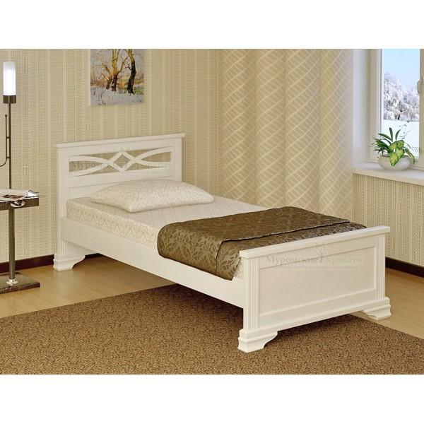 """""""Лира"""" белая кроват�..."""