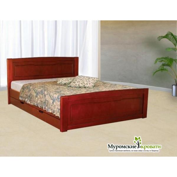 """Кровать из массива дерева """"Ариэль"""""""