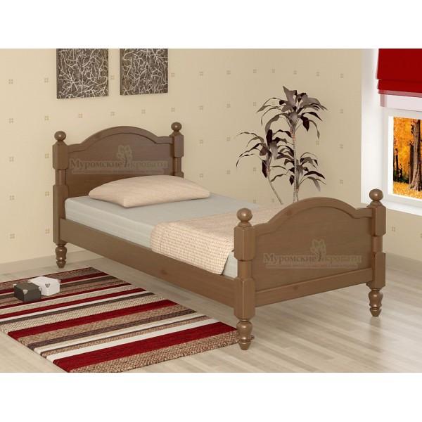 """""""Лама"""" кровать без рисунка односпальная"""