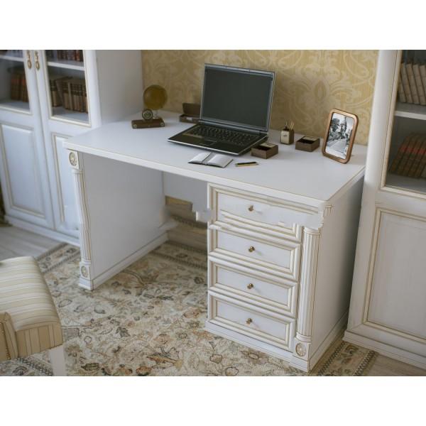 """Однотумбовый письменный стол из серии """"Пальма"""""""