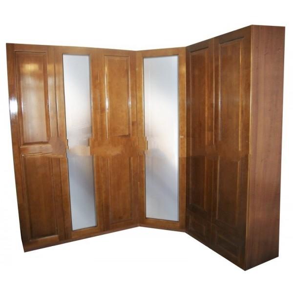 """Шкаф угловой с двумя зеркалами """"Кардинал-3"""""""