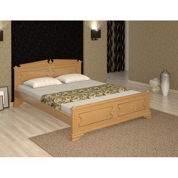 """Кровать из массива дерева """"Фараон-1"""""""
