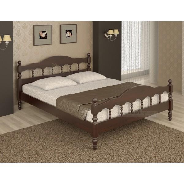 """""""Точенка"""" кровать из дерева"""