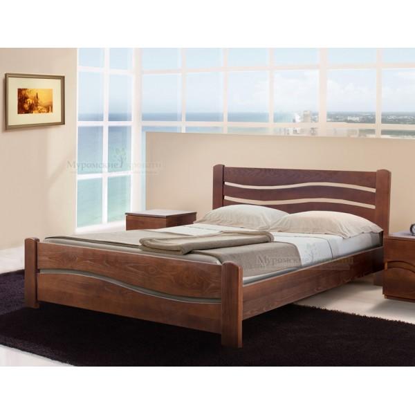 Кровать из массива дерев...
