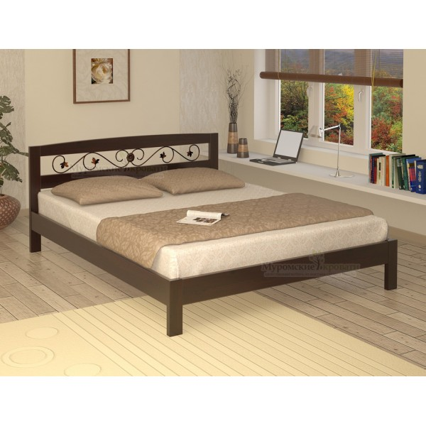 """Кровать из массива дерева """"Жоржетта"""""""