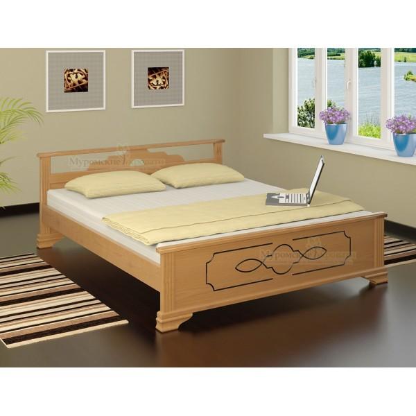"""""""Ирида"""" кровать из дерева"""