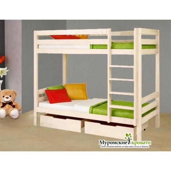 """2-х ярусная кровать """"Ника&..."""