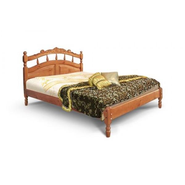 """Кровать из массива дерева """"Джулия"""" Тахта резьба"""