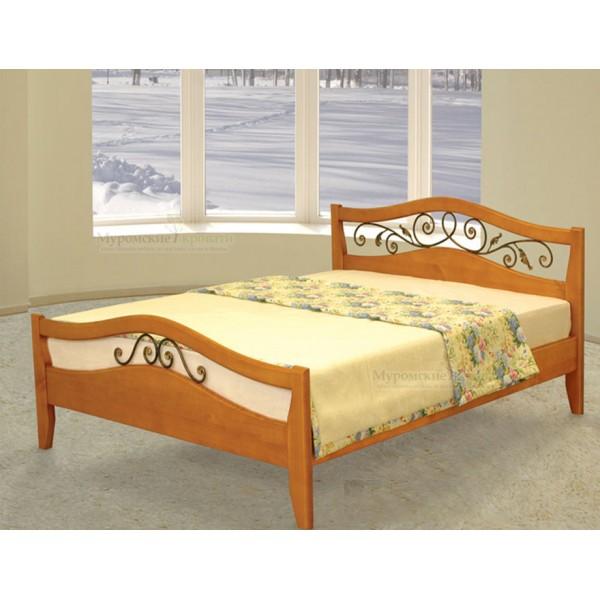 """Кровать из массива дерева """"Алиса"""""""