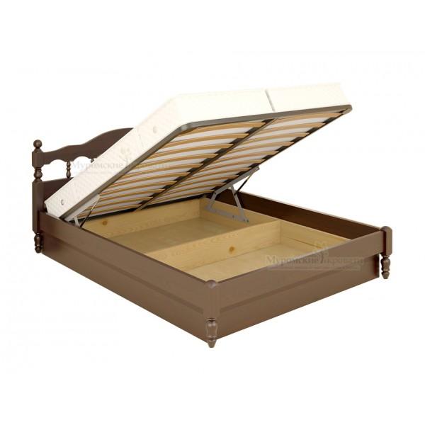 """""""Точенка"""" кровать с подъемным механизмом"""